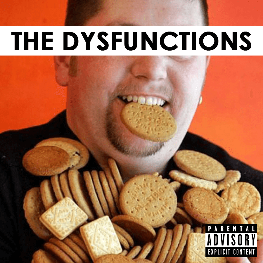 Album cover for 'biscuits for everyone'